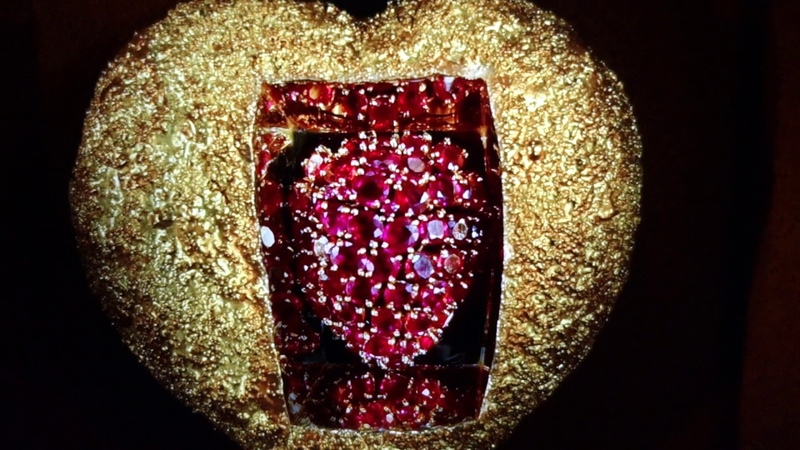 The Beating Bejeweled Heart of Salvador Dali