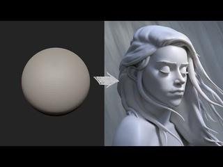 Zbrush Head Sculpt 30 - Autumn Girl