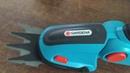 Аккумуляторные ножницы для травы Gardena ComfortCut Часть1 Кусторез