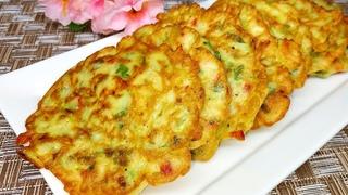 Вкусный Завтрак из КАБАЧКОВ! А вы так готовили КАБАЧОК? Пикантные Оладьи из Кабачка с начинкой