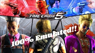 Arcade Pc-Time Crisis 5 (100% emulated) now playable on pc + download