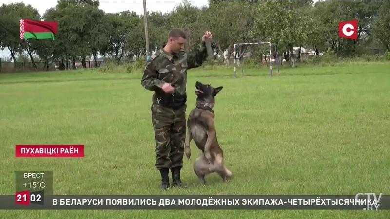 СТВ_Минщина_Охрановцы поздравили ребят из Руденской школы- интерната с Днём знаний