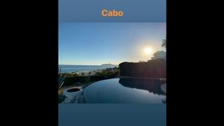 Adam Lambert's IG story : Vacation at Las Ventanas al Paraíso, Cabo, Mexico 2019-02-17