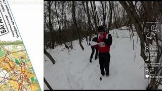 Спортивное ориентирование (headcam orienteering) - Новогодние Старты! Смоленск -