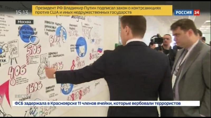 Наращивание несырьевого экспорта репортаж Россия 24