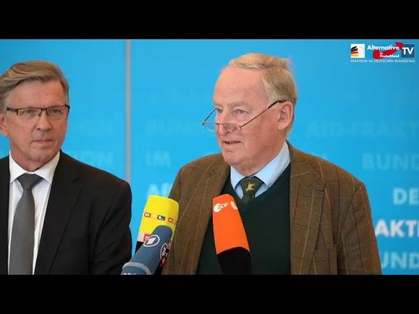 Gerold Otten nicht gewählt - Statement der AfD