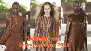 Valentino - the short review of the fashion collection spring summer 2021