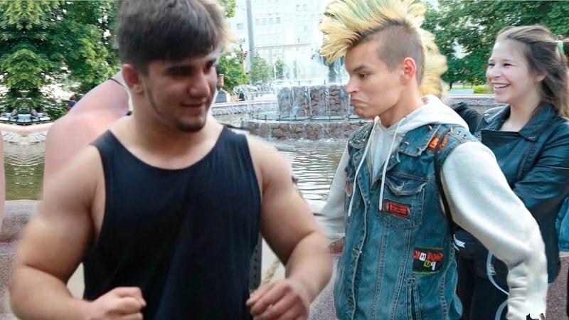 Лев Против чеченский школьник на рейде