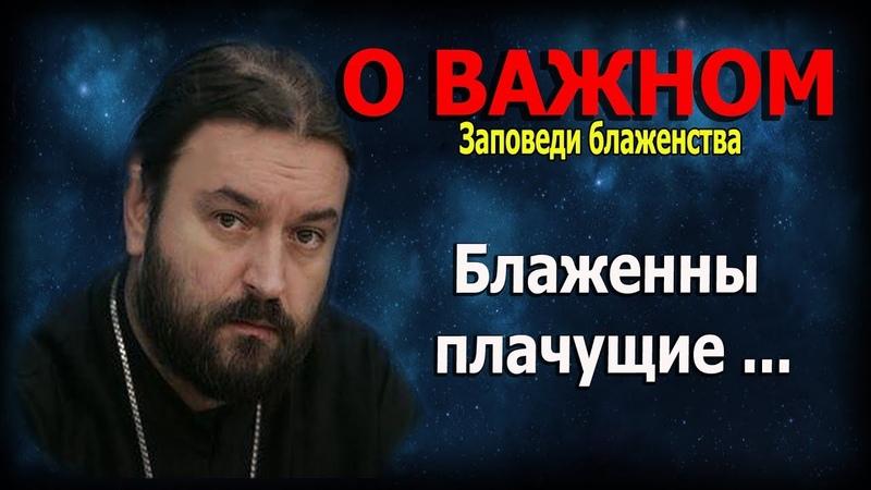 Девять евангельских заповедей блаженства 2 Протоиерей Андрей Ткачёв