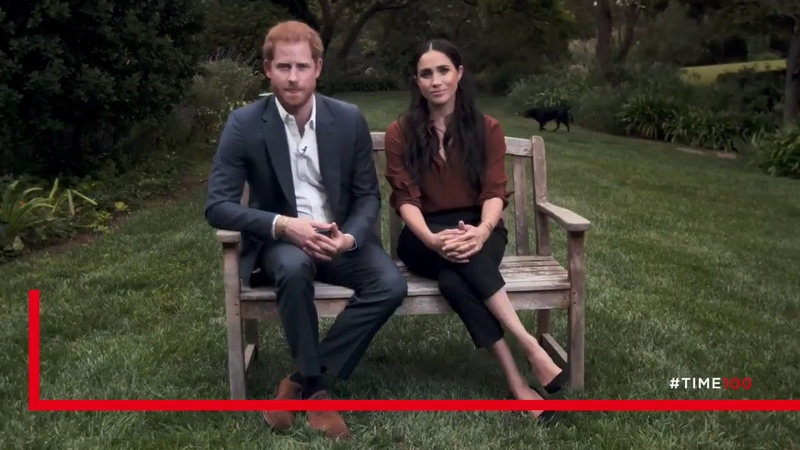 Meghan Markle and Prince Harry appear on TIME 100 television special