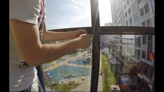 Как разобрать и помыть окна на лоджии