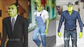 "Shrek ""such a whore"" tik tok challenge/dance street fashion shrek"