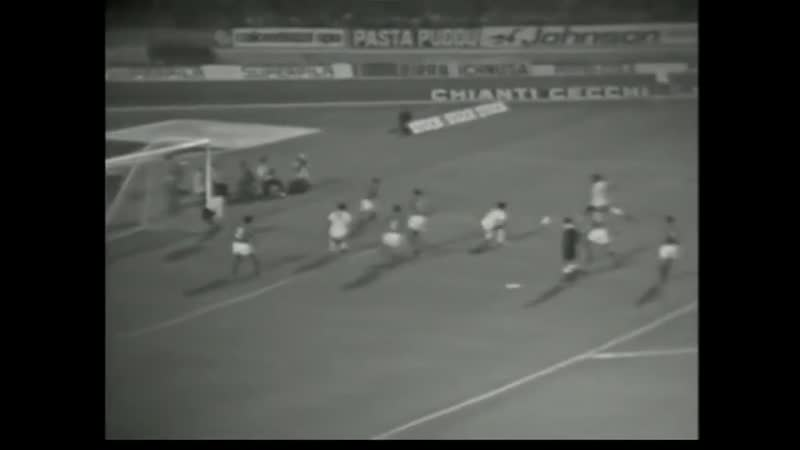 Кальяри Сент Этьенн Обзор матча Первый матч 1 16 финала КЕЧ 1970 1971
