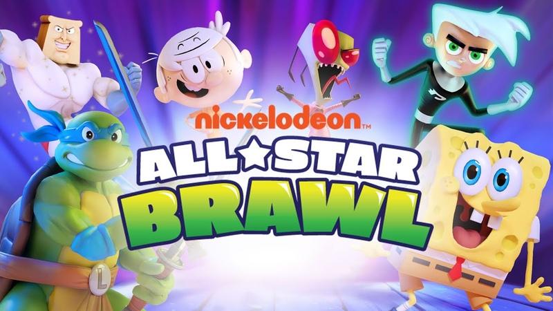 Nickelodeon All Star Brawl Announcement Trailer