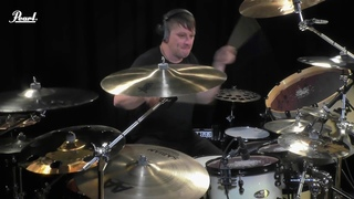 Ray Luzier behind Pearl Masterworks   KXM - Calypso