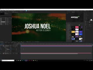 3 clean typography title motion graphics after effects tutorial