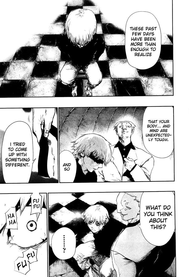 Tokyo Ghoul, Vol.7 Chapter 62 Kaneki, image #17