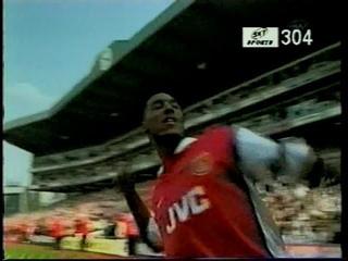 Premier League 1998~1999 36節 アーセナル vs ダービー・カウンティ ARSENAL vs DERBY COUNTY