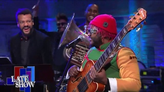 """Thundercat Performs """"Them Changes"""" with Jon Batiste & Stay Human"""