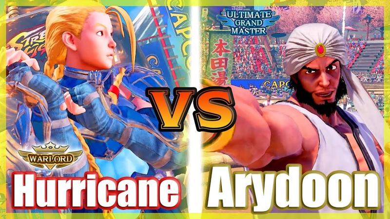 SFV CE 👊🏻 Hurricane (Cammy) vs Arydoon (Rashid) FT2