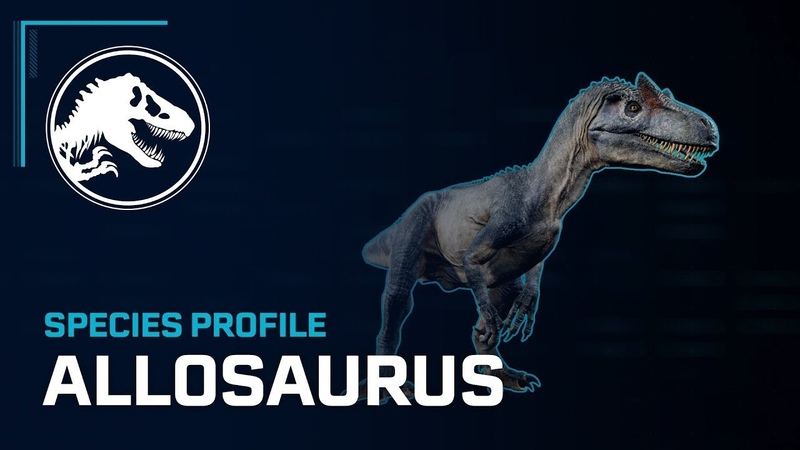 Профиль вида Аллозавр