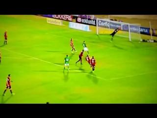 O segundo gol de Rafael Longuine em Guarani 2x1 Brasil de Pelotas