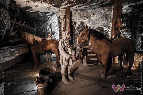 Соляная шахта в Величке (Польша) - это единственный горнопромышленный объект в м...