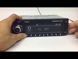 Автомагнитола 1 Din, управление через приложение