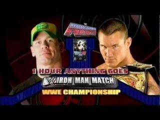 John Cena vs Randy Orton - Anything Goes IronMan Match - WWE Championship - Bragging Rights 2009