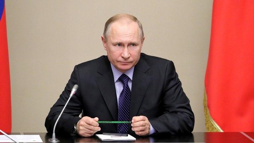 Путин прокомментировал закон о наказании за исполнение санкций