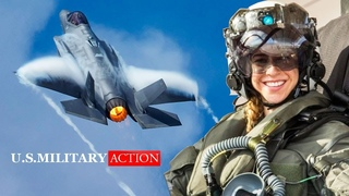 The First Female F-35 Pilot Shows the Most Insane Action