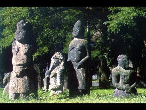 Половцы Каменные идолы кочевников Говорящие камни