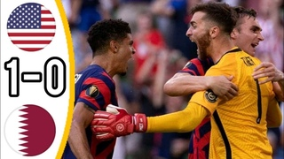 🔥 США - Катар 1-0 - Обзор Матча Полуфинал Кубок КОНКАКАФ 30/07/2021 HD 🔥