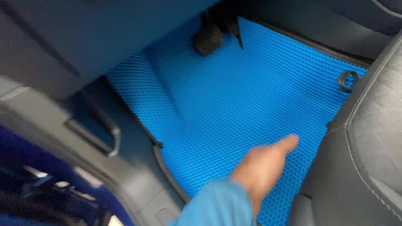 Обзор ковров VW Tiguan 2
