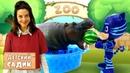 Гонщик Чейз, Робокар Поли и Кетбой в Детском садике. Игры с Плей До - Видео для детей