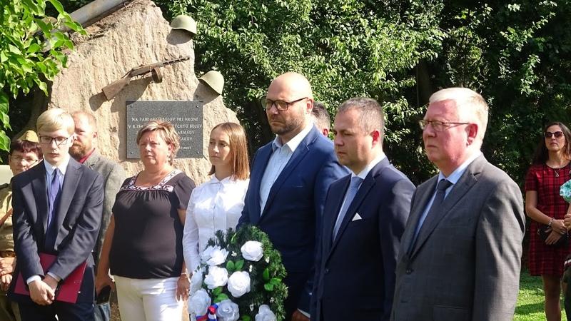 V obci Starý Tekov odhalili pomník maršala R J Malinovského