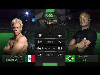 Julio Cesar Chavez Jr. vs. Anderson Silva - FullFight