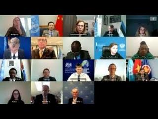 Выступление А.М.Евстигнеевой в ходе открытой видеоконференции по Республике Южный Судан