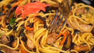 СОСУ-ЯКИСОБА – жареная лапша в соусе. Японская кухня. Рецепт от Всегда Вкусно!