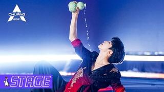 【SOLO DANCE】Liu Yu Dances With Red Fan, Song 'Guan San Liquor'  刘宇执红扇舞《关山酒》    创造营 CHUANG2021