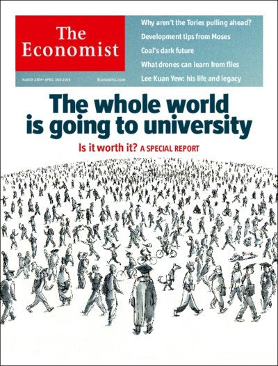 THE ECONOMIST (March 28th, 2015) - the Audio Edition