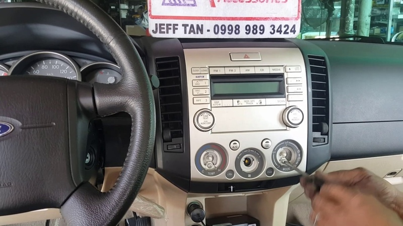 Jeff tan tutorial ford everest stereo panel removal