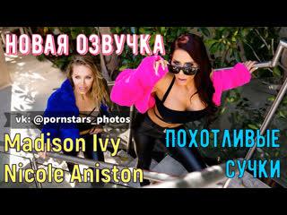 Madison Ivy, Nicole Aniston - Похотливые сучки (русская озвучка, big tits, ffm milf brazzers porno порно ЖЖМ перевод на русском)