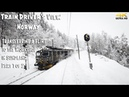 TRAIN DRIVER'S VIEW PREMIERE: FLIRTing to the Workshop in Sundland part 1 of 2