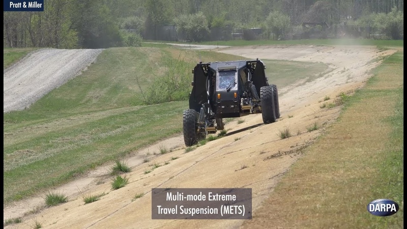 Demonstrations of DARPAs Ground X-Vehicle Technologies
