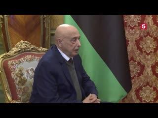 Лавров заявил ожелании РФналадить контакты сЛивией