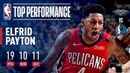 Elfrid Payton Records His 5th STRAIGHT Triple-Double March 18, 2019 NBANews NBA Pelicans