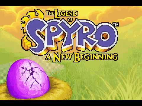 Game Boy Advance Longplay 199 The Legend of Spyro A New Beginning