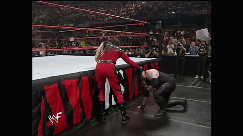 WWF Raw Is War 26 07 1999 Kane vs Undertaker Big Show