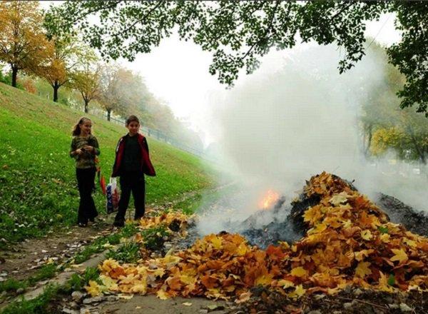 Предупреждение пожаров в осенний период